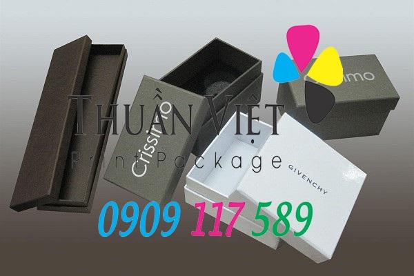 hộp giấy mang thương hiệu riêng của doanh nghiệp